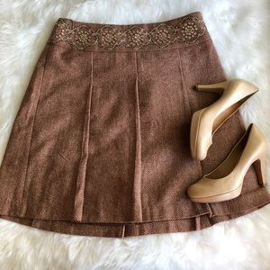 Loft • Tweed Full Skirt